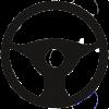 car-steering-wheel-icon-vector-22143109